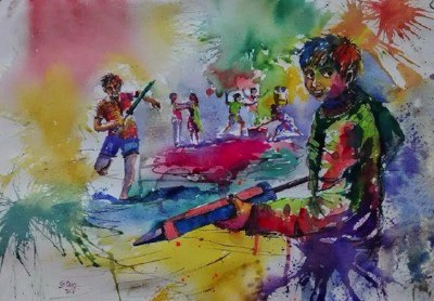 Play Holi at Hippocampus Cover Image