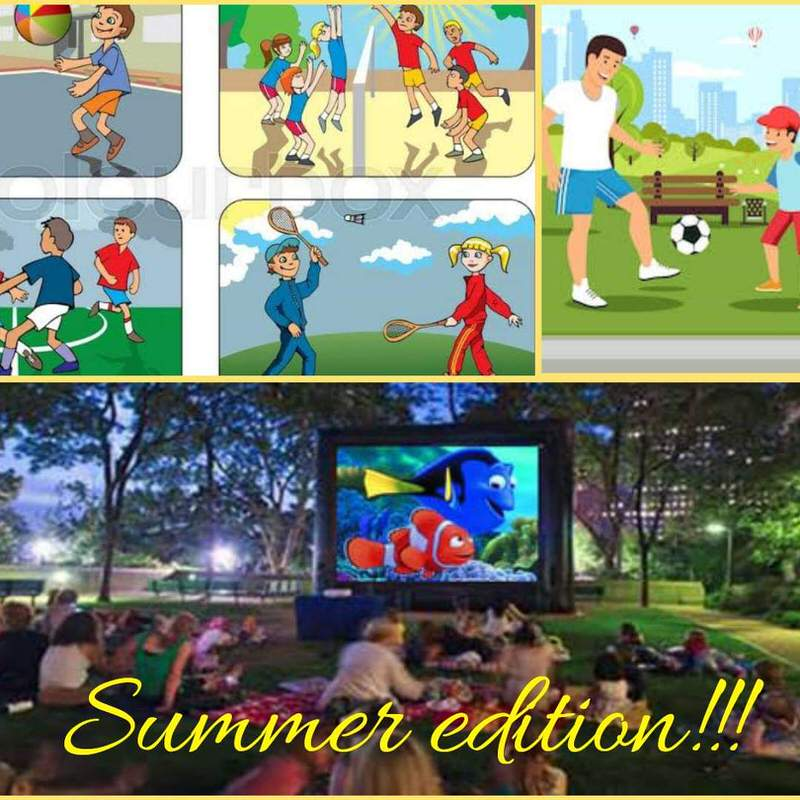 Open Air Movie Night for Kids Cover Image