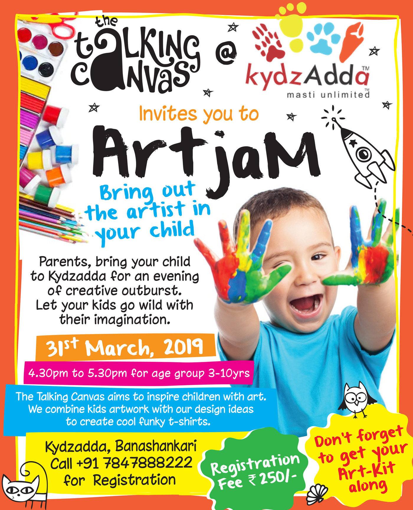 ArtJam by Talking Canvas Cover Image