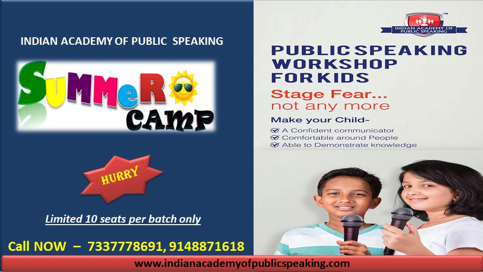 Public Speaking Summer Camp for Children Cover Image