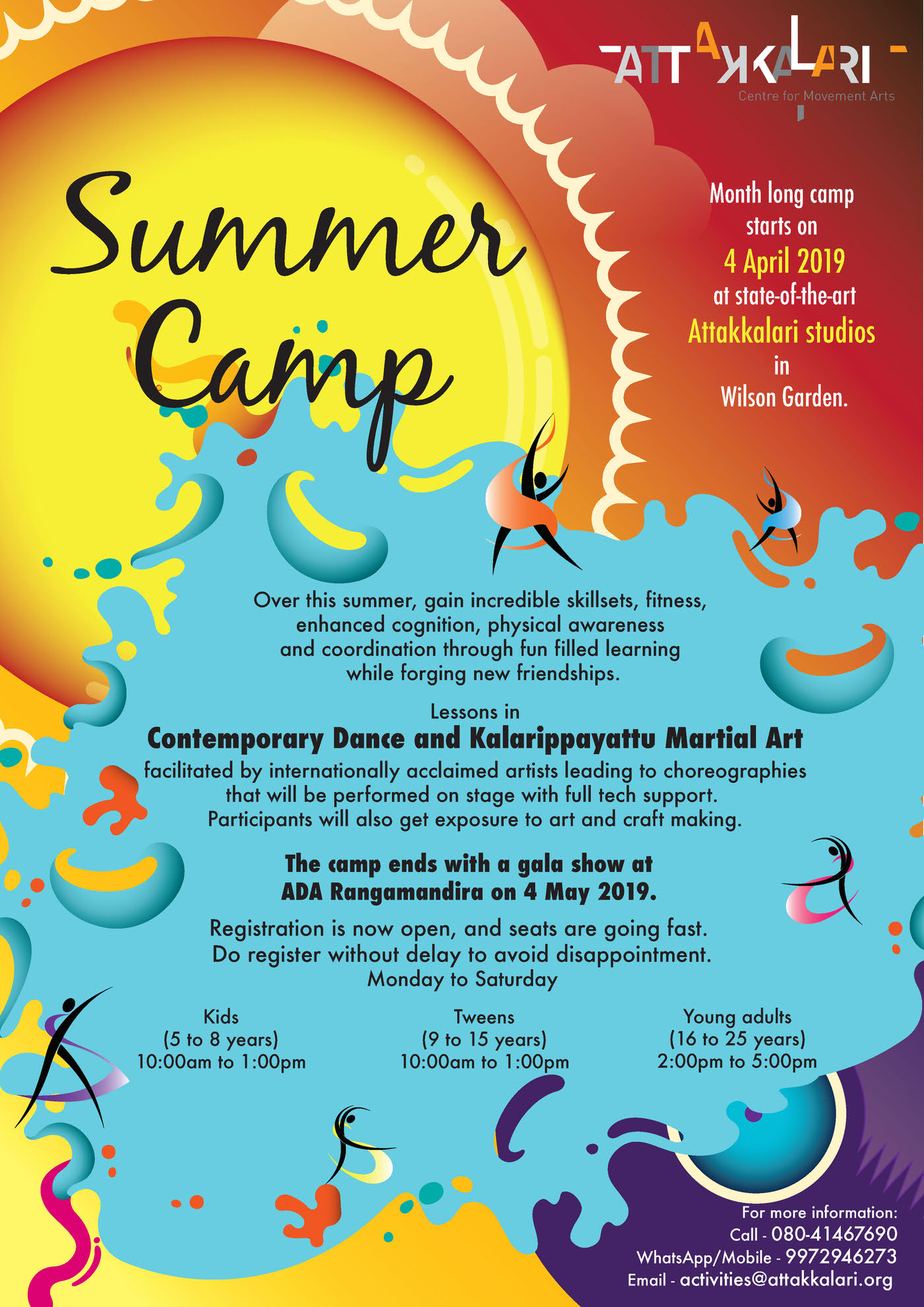 Attakkalari Summer Camp 2019 Cover Image