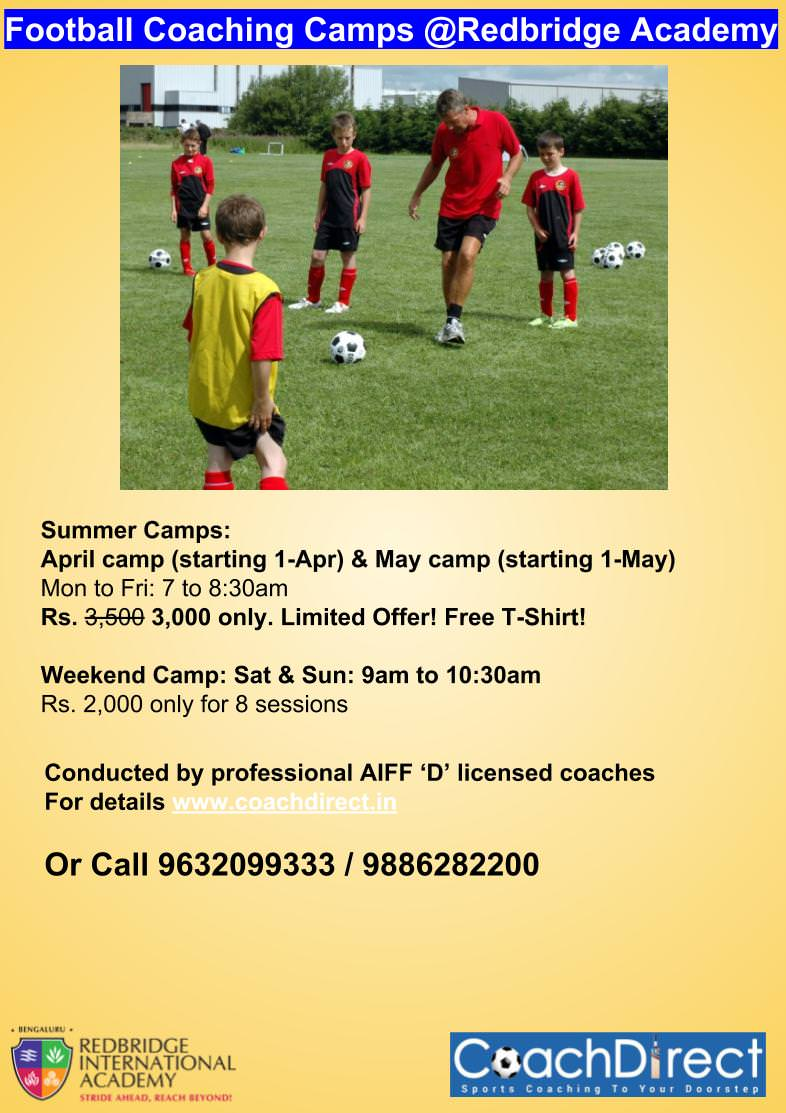 Football Summer Camp 2019 Cover Image
