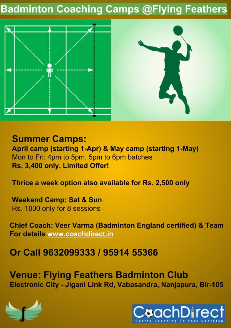 Badminton Summer Camp 2019 Cover Image