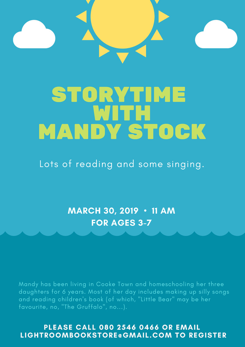 Storytime With Mandy Stock Cover Image