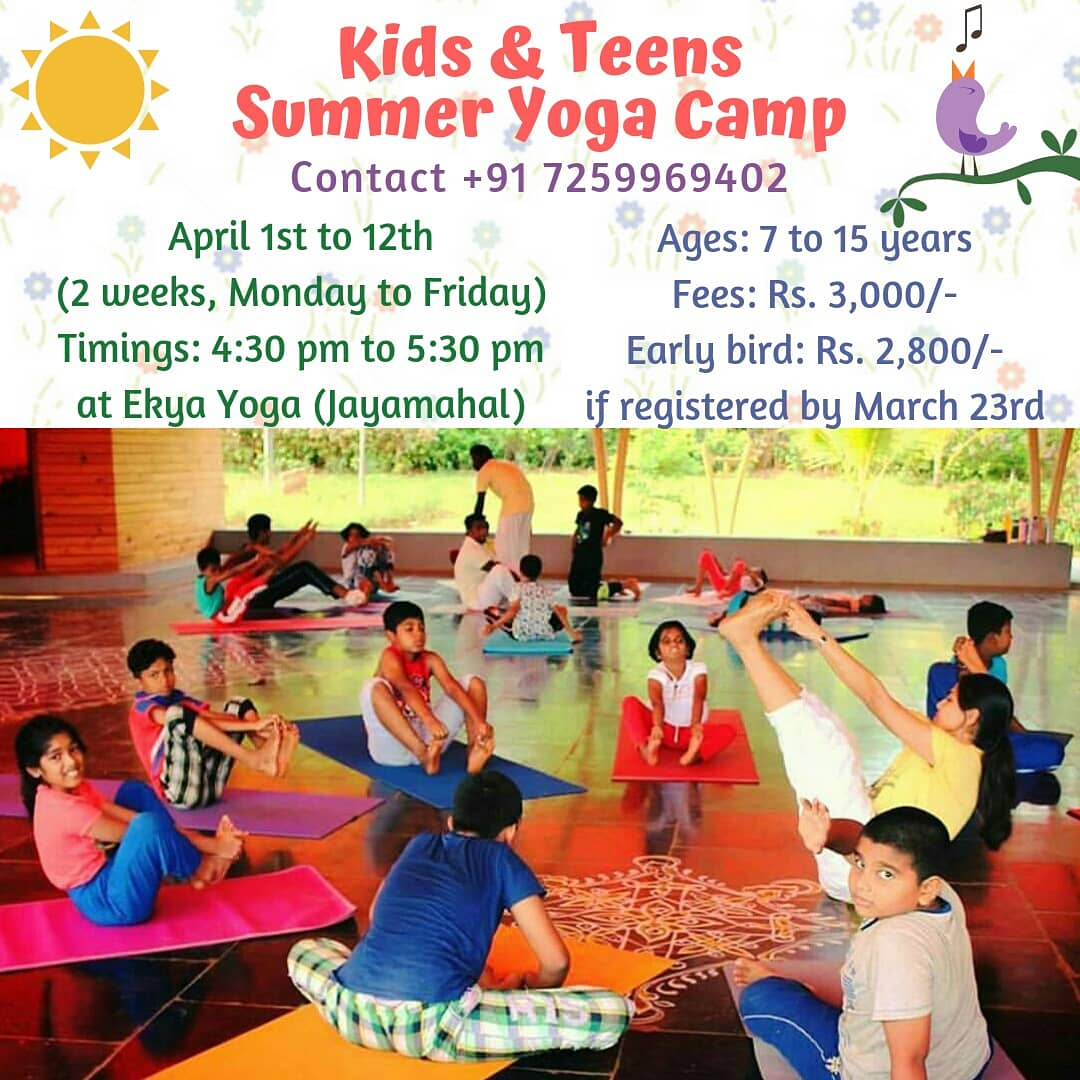 Kids & Teens Summer Yoga Camp 2019 Cover Image
