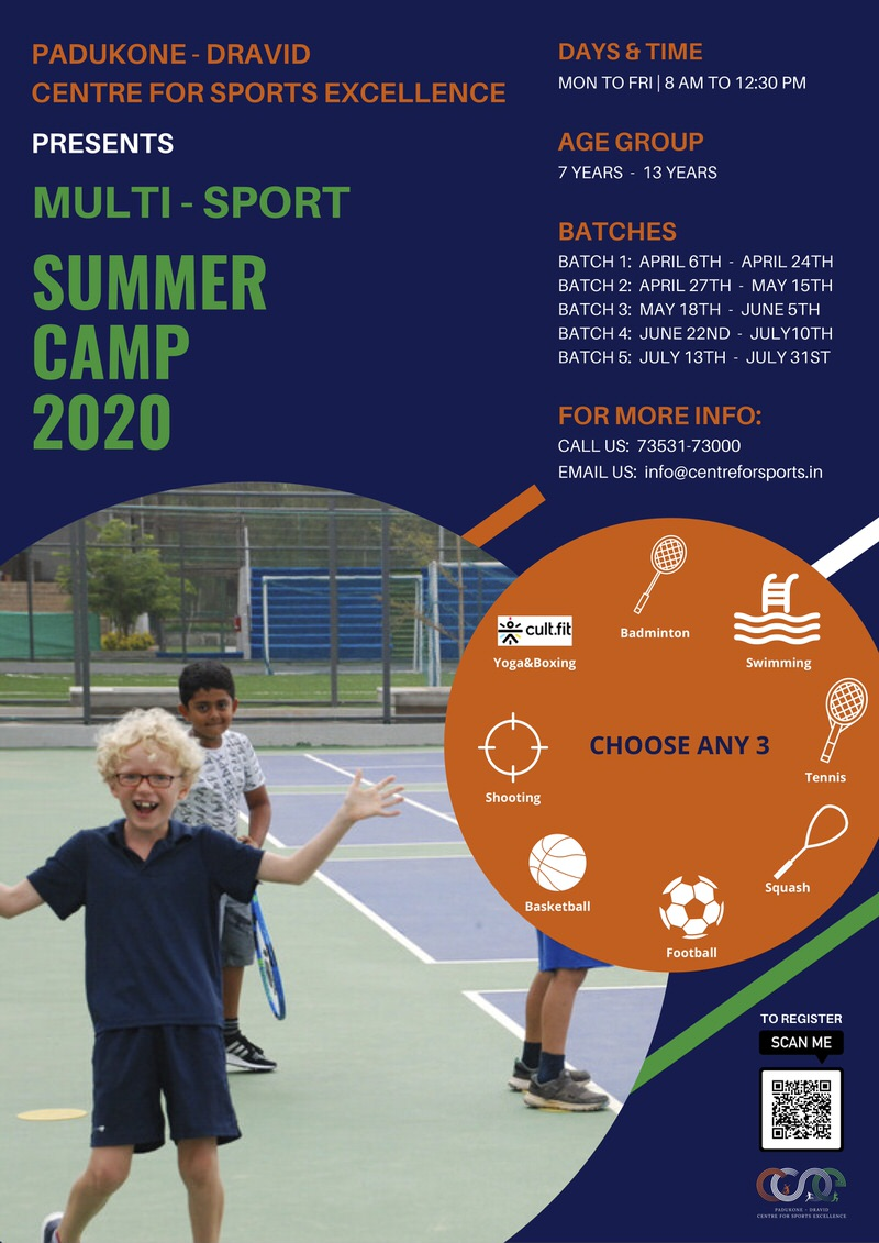 PDCSE Multi-sport Summer Camp 2020 Cover Image