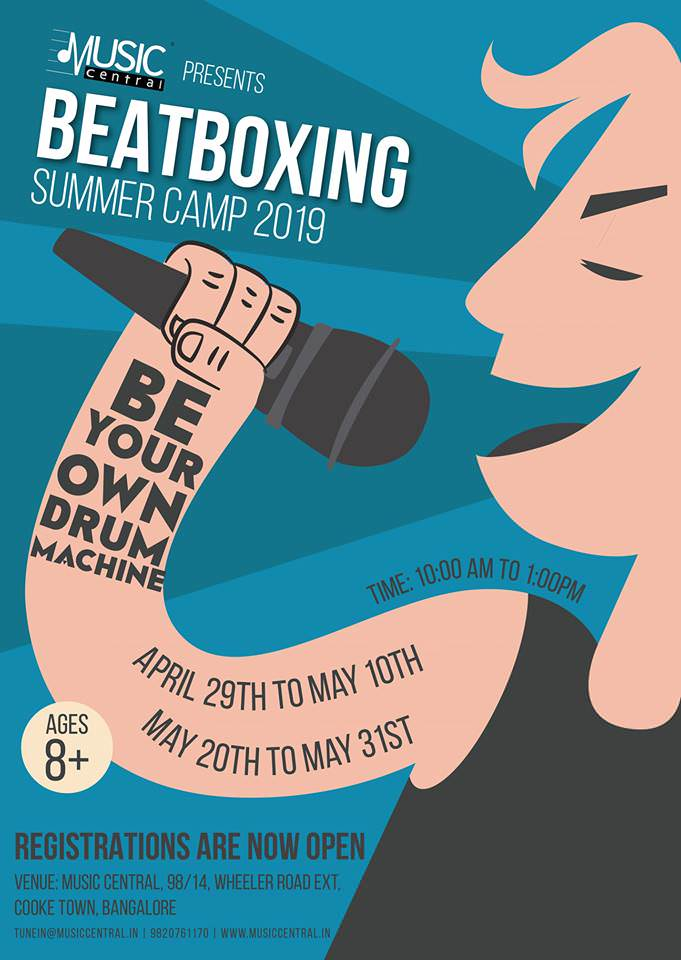 Beatboxing Summer Camp 2019 Cover Image
