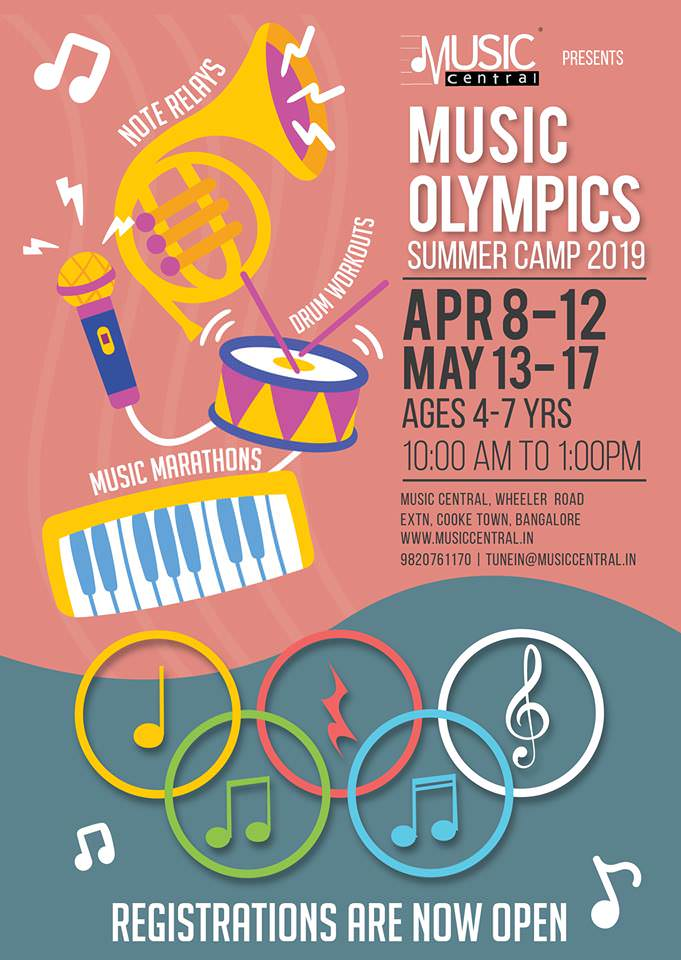 Summer Music Olympics 2019 Cover Image