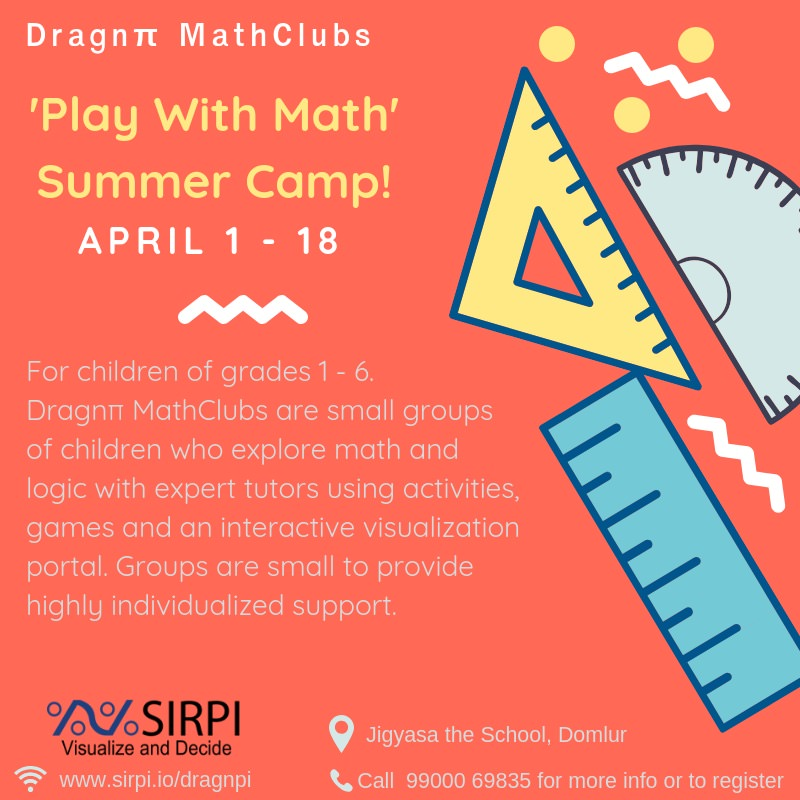 Dragnpi Math Camp 2019 Cover Image