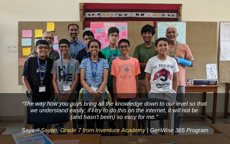 Genwise Summer Program Review by Sayan