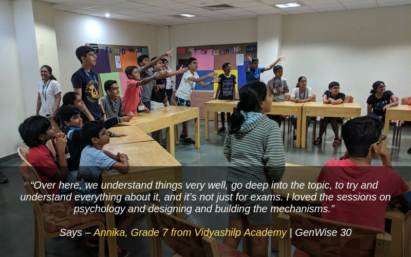 Genwise Summer Program Review by Annika