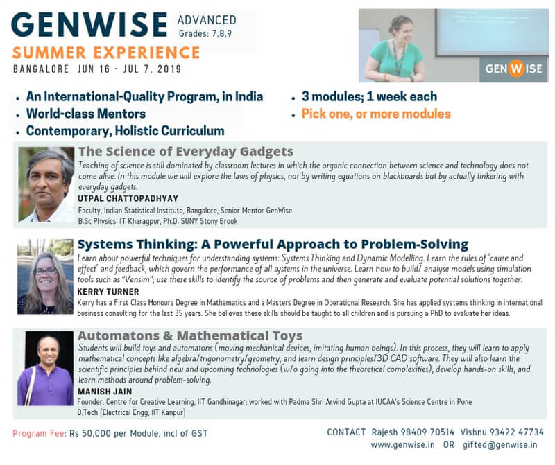 GenWise Summer Experience Cover Image