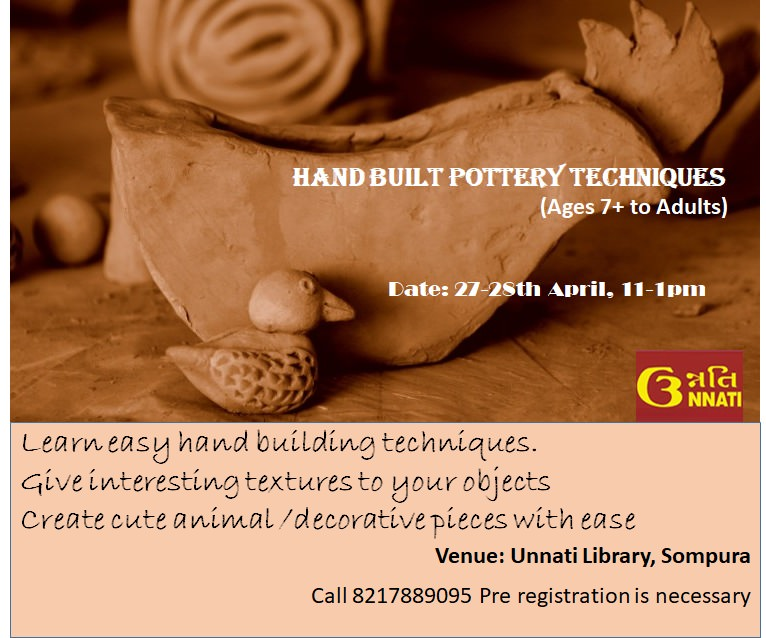 Hand-Building Pottery Workshop Cover Image