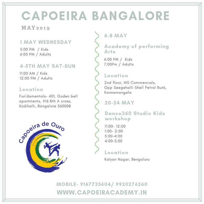 Capoeira Workshop 2019 Cover Image