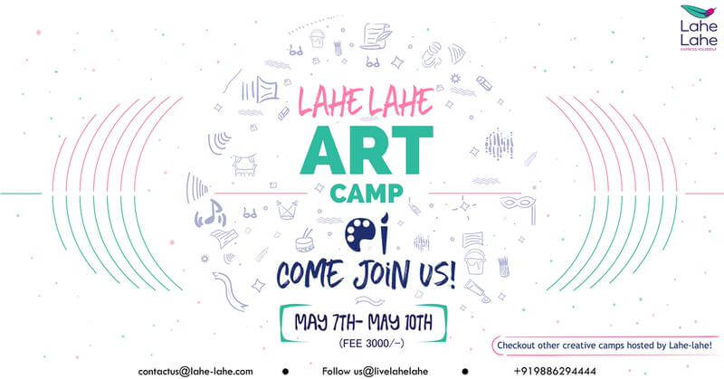 Lahe Lahe Art Camp 2019 Cover Image