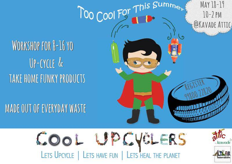 Cool Upcyclers: Upcycling Workshop Cover Image