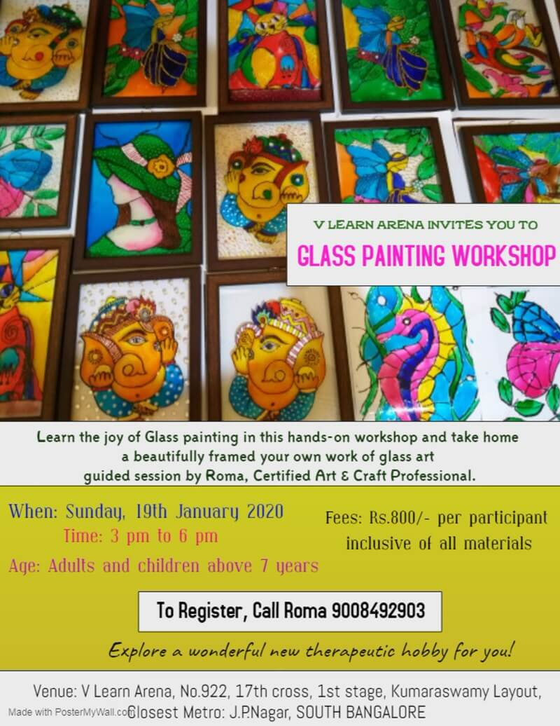 Glass Painting Workshop Cover Image