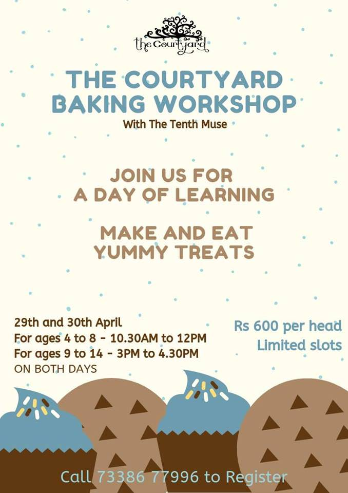 The Courtyard Baking Workshop Cover Image