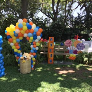 Balloon Decoration by Rainbow Candy Events