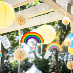 Rainbow Candy Events Birthday Party Decoration