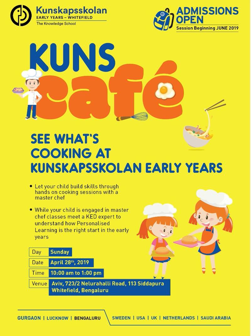 Kuns Cafe: Kids Cooking Workshop Cover Image