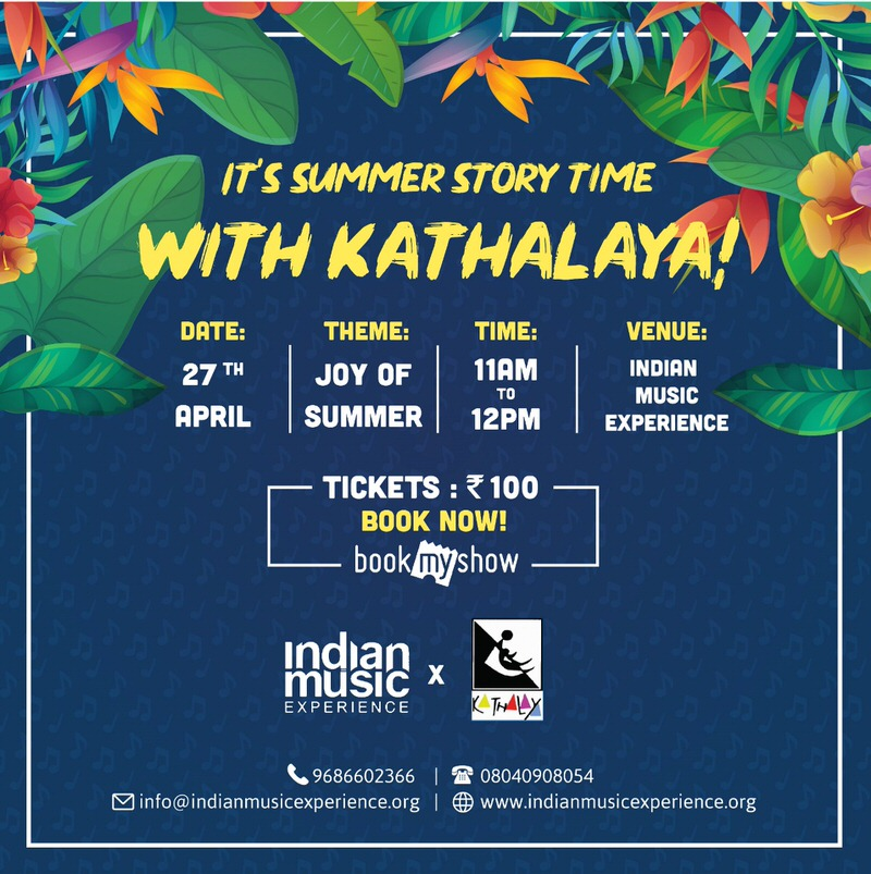 Summer Story Time With Kathalaya Cover Image