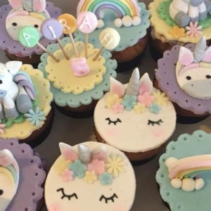 Unorn Cupcakes by Happy Belly Bakes