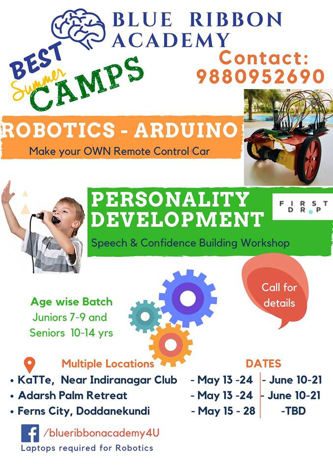 Blue Ribbon Robotics & Theatre Summer Camps Cover Image