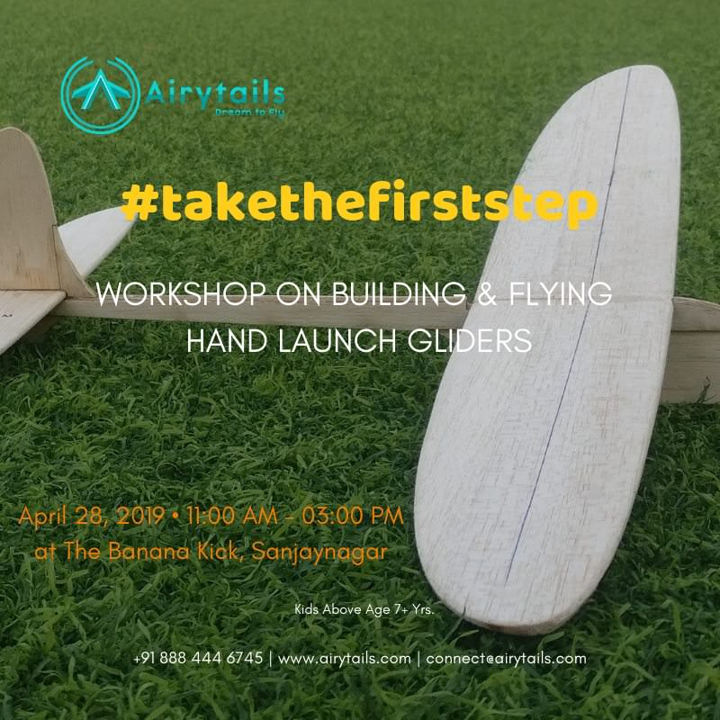 Workshop on Building & Flying Hand Launch Gliders Cover Image