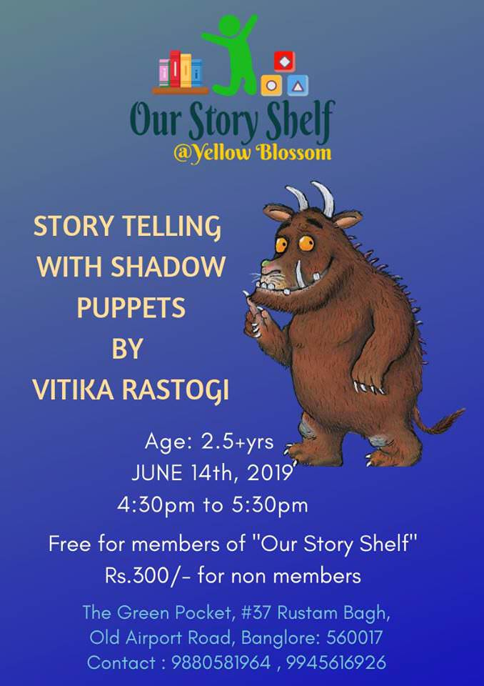 Gruffalo Stories with Shadow Puppets Cover Image