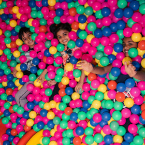 Ball pool at Tumble Town