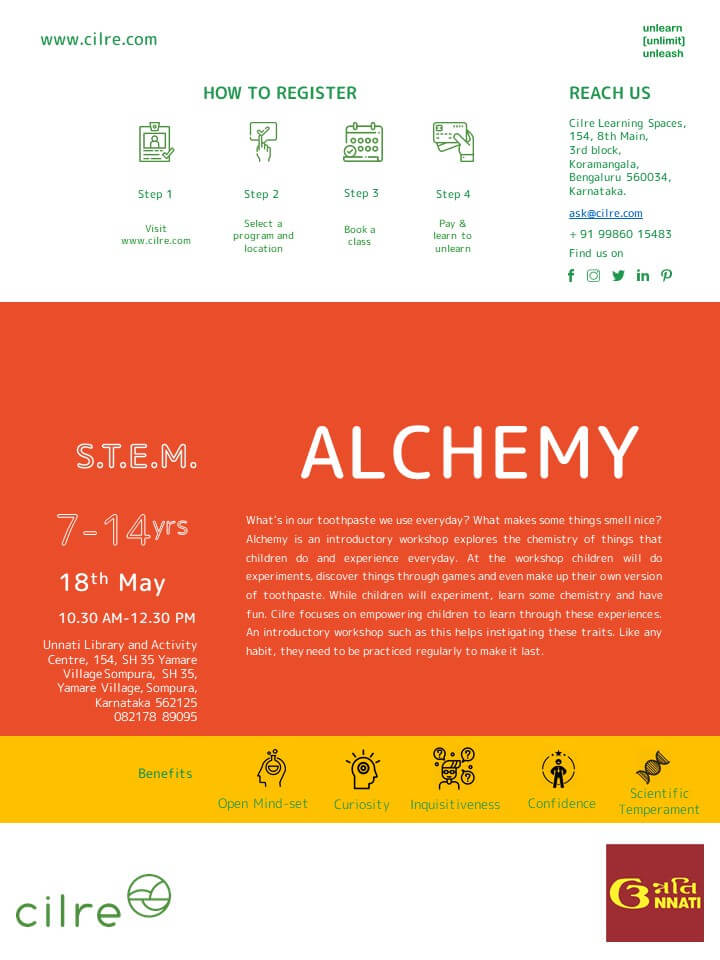 Alchemy Workshop Cover Image