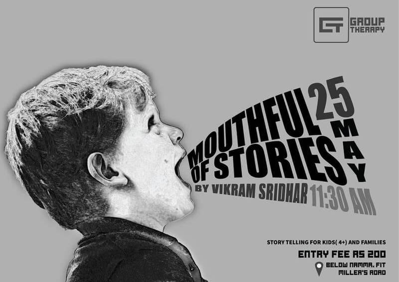 Mouthful of Stories by Vikram Sridhar Cover Image