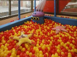 Ball pit at Happy Kydz