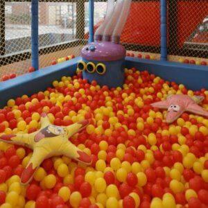 Ball pit at Happy Kydz