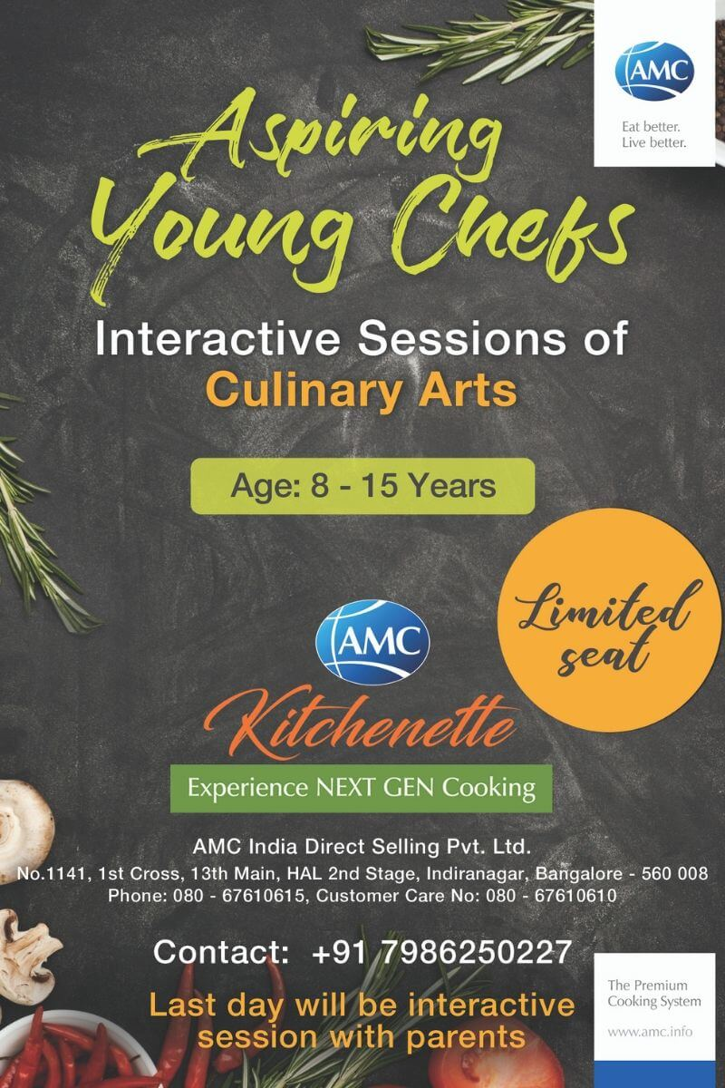 Aspiring Young Chef – With Chef Parminder Brar Cover Image