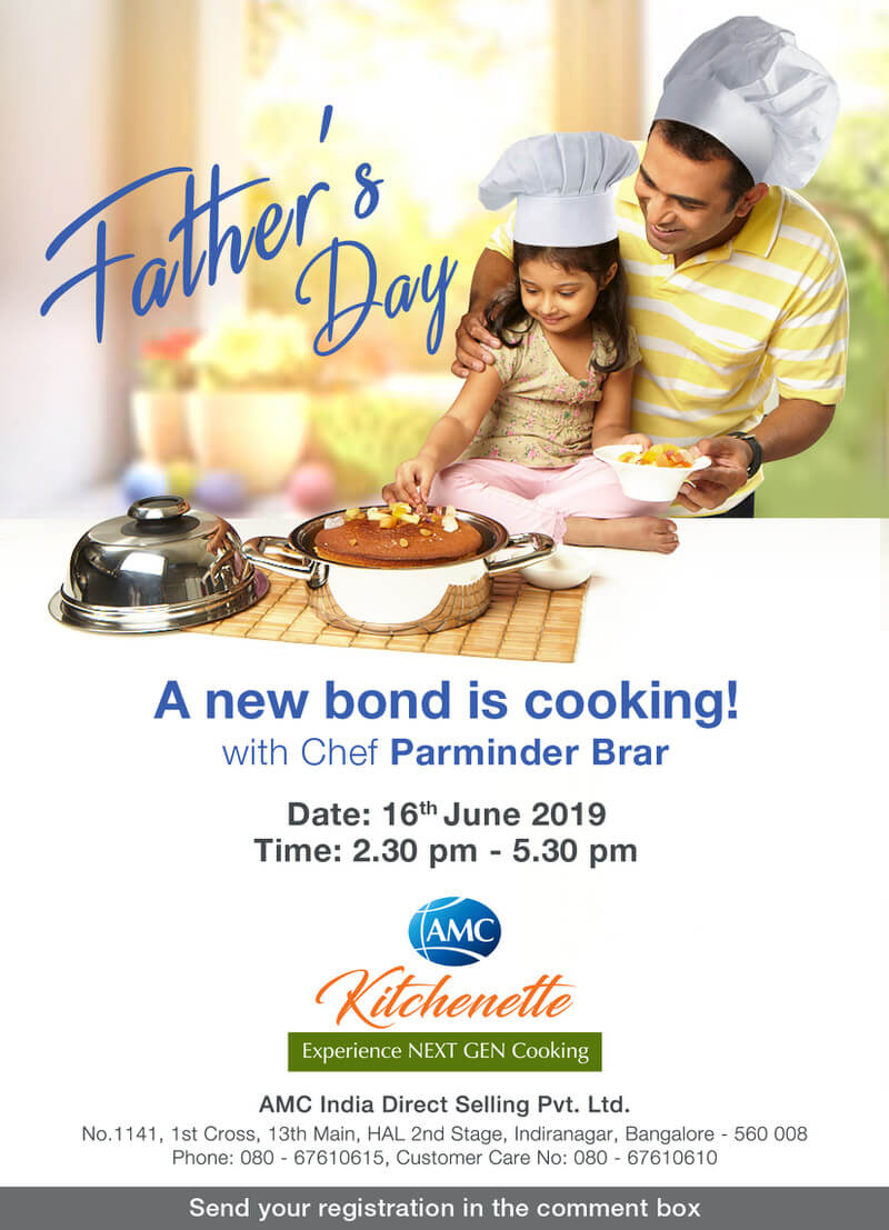 Father's Day Cooking Workshop Cover Image