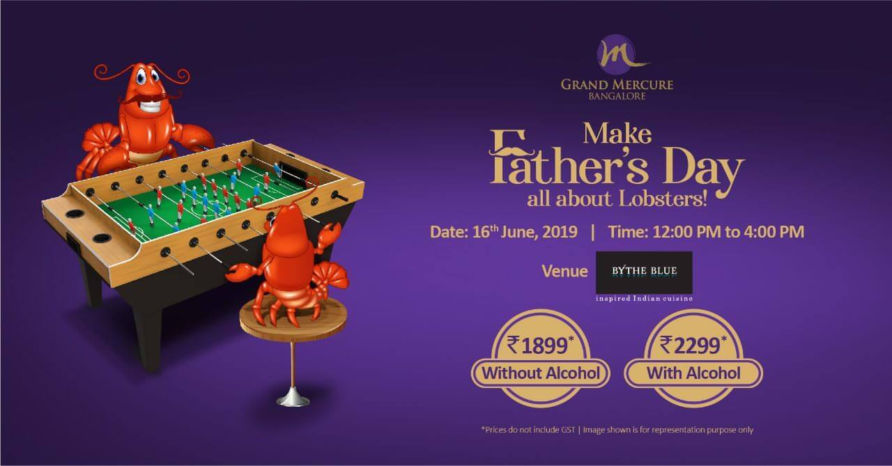 Fathers Day Celebration at Grand Mercure Cover Image