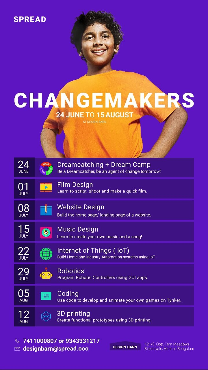 Changemakers Summer Camp 2019 Cover Image