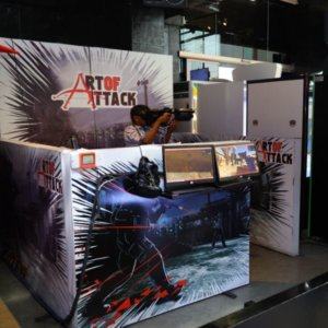 Art of Attack at Smaaash 1 MG Mall