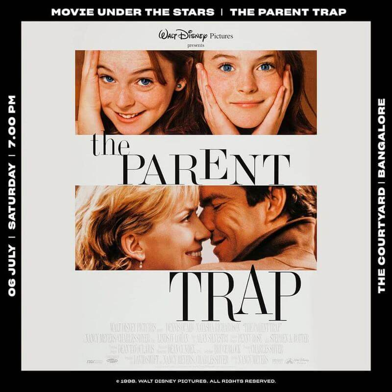 Movie Under the Stars: The Parent Trap Cover Image