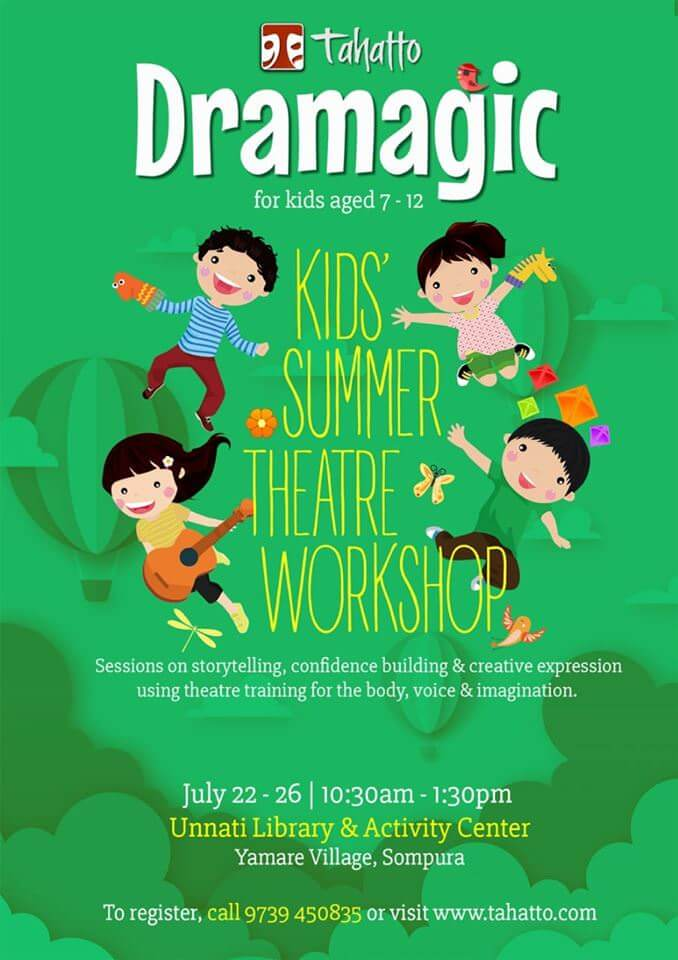 Dramagic – Kids' Summer Theatre Workshop Cover Image