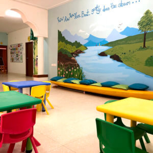 Small World Preschool Classroom