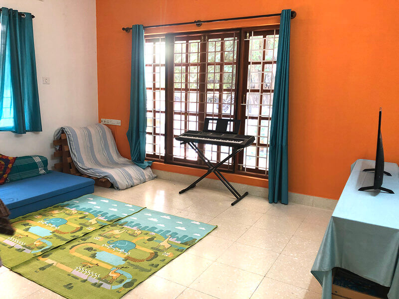 Small Montessori Baby Room