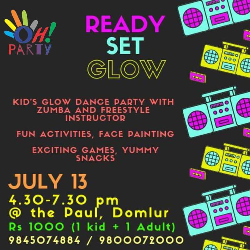 Glow Dance Party Cover Image