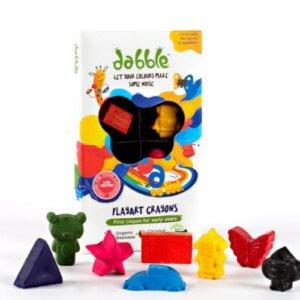Dabble Playart Toxin Free Crayons