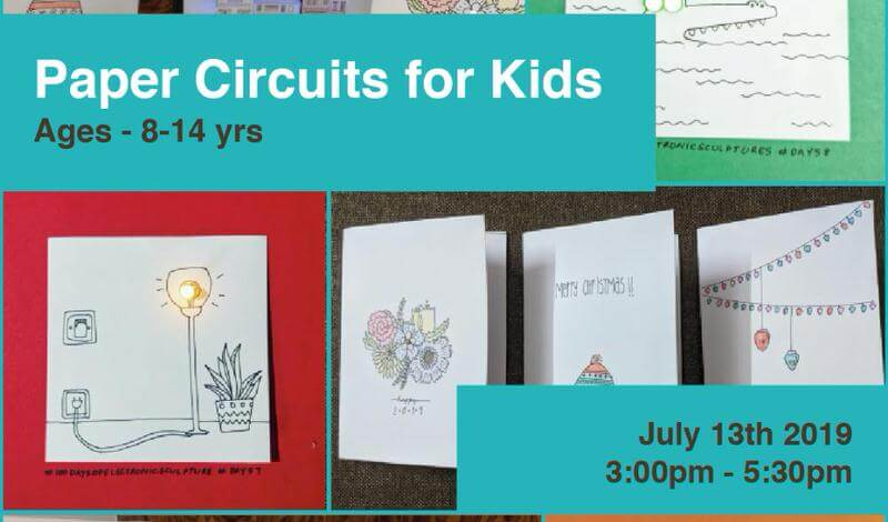 Paper Circuits for Kids Cover Image