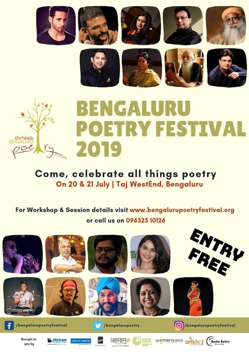 Bengaluru Poetry Festival 2019 Cover Image