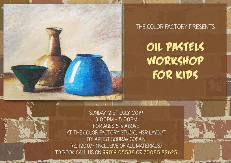 Oil Pastels Workshop For Kids Cover Image