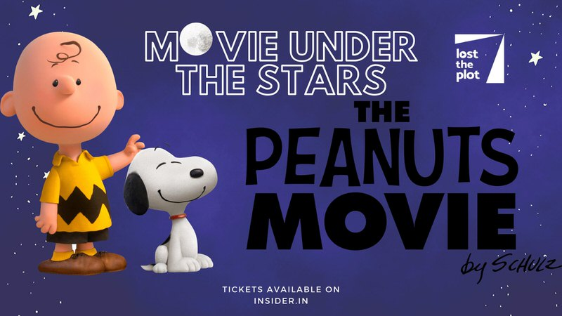 Movie Under The Stars – The Peanuts Movie Cover Image